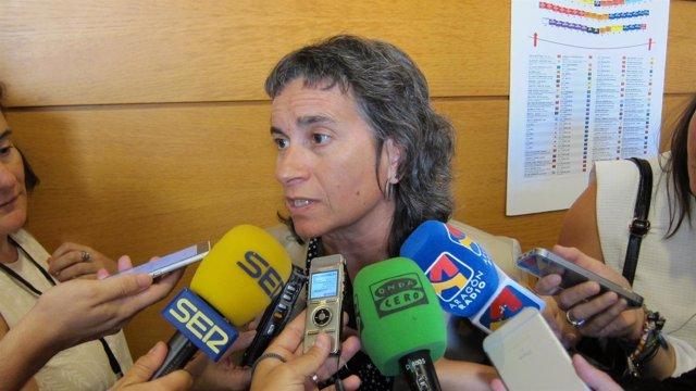 Luisa Broto ha asistido a la primera jornada del Debate de política general