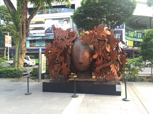 La obra de Manolo Valdés llega a Singapur