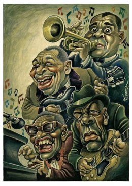 Cartel del Festival Internacional de Blues de Cerdanyola