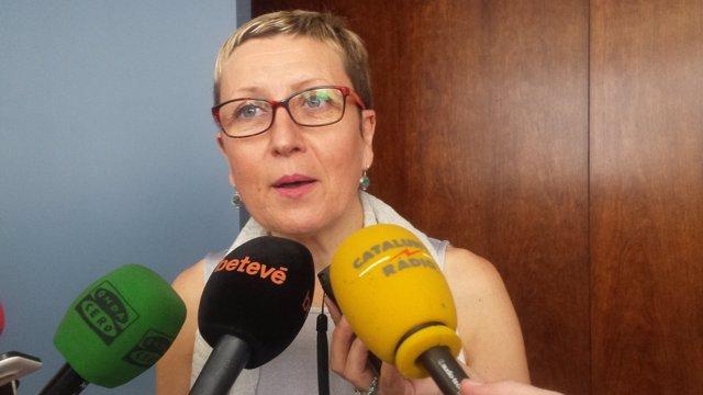 La portaveu del PSC a Barcelona, Carmen Andrés