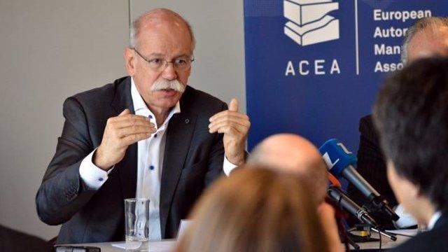 Presidente de la ACEA, Dieter Zetsche