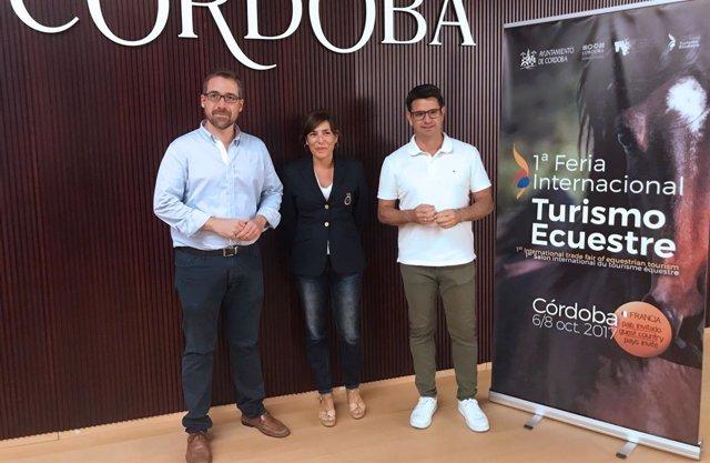 Pedro García, Begoña Brea y Jesús Ligero
