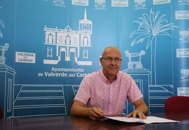 Juan Carlos Gutiérrez, portavoz del PP en Valverde del Camino.
