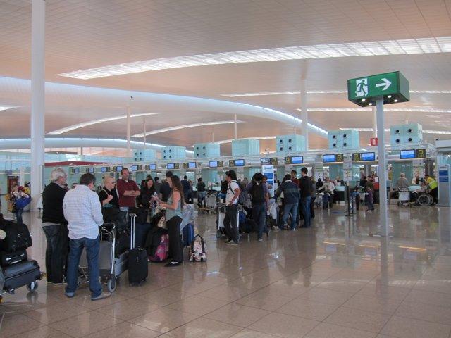 Terminal T1 Aeroport del Prat Barcelona