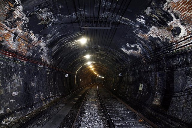 Túneles de la línea 1 del Metro de Madrid