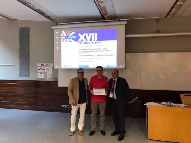 Entrega de los premios Emilio Perea de la Escuela de Salud Pública