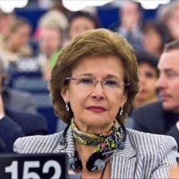 Pilar Ayuso, eurodiputada del PP