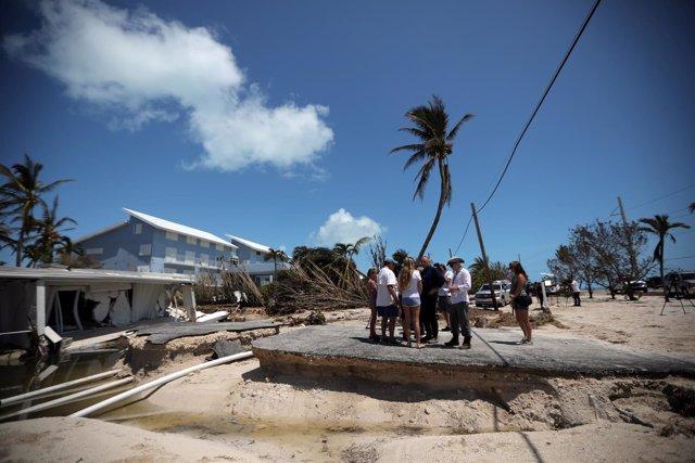 Daños por el huracán 'Irma' en Florida