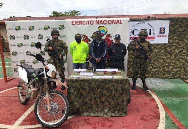 Capturan a un líder del Clan del Golfo en Antioquia