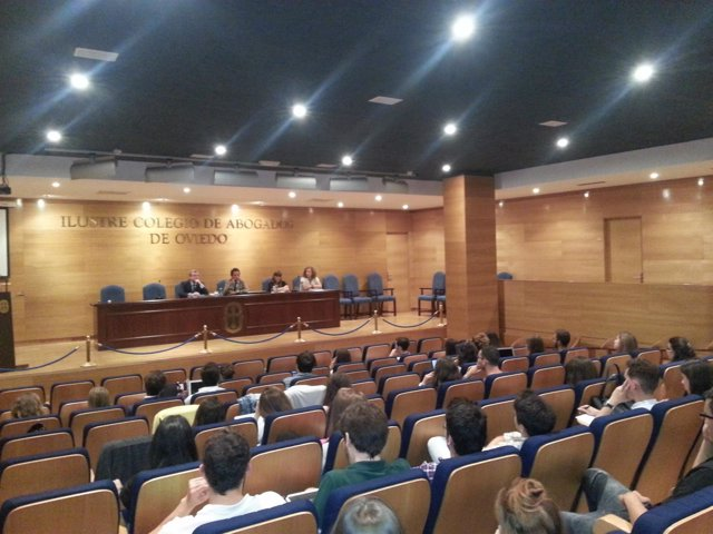 Inicio del máster de abogacía del ICA Oviedo