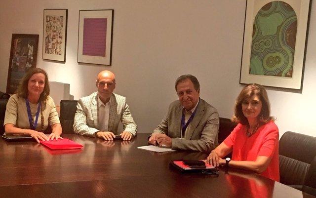 El PSOE se reune con Paco Lobatón