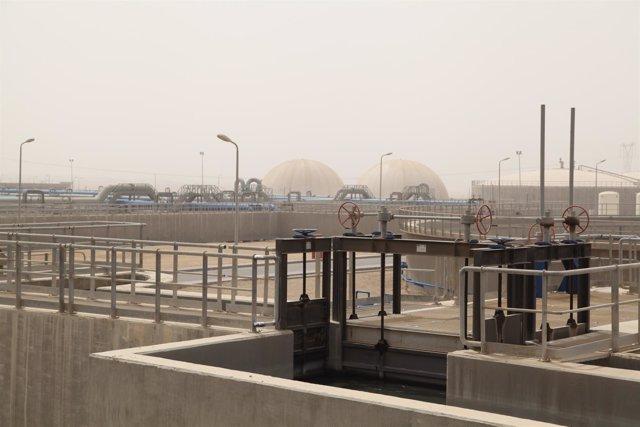 FCC, depuradora de El Cairo
