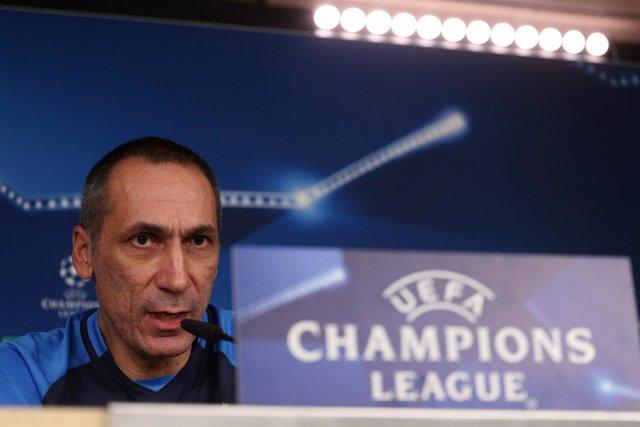El entrenador del APOEL FC, Giorgos Donis