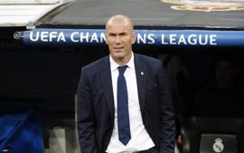 """Zidane: """"No puedo estar contento con la primera parte, pero sí con la segunda"""""""