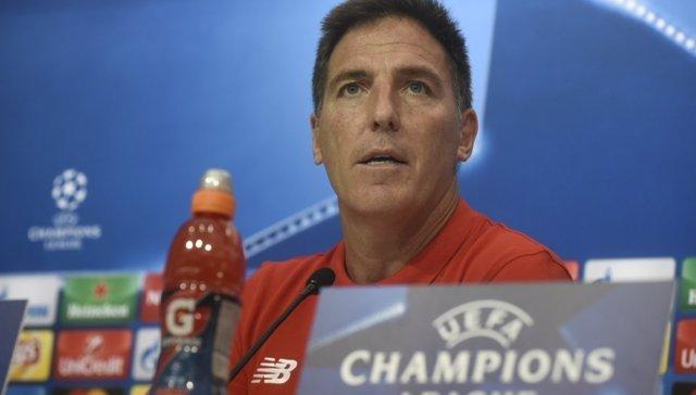 Eduardo Berizzo, entrenador del Sevilla CF