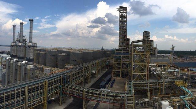 Nueva fábrica Sinar Mas Cepsa en Dumai