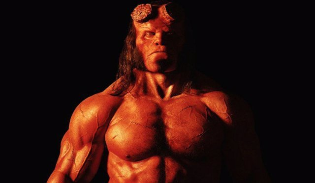 David Harbour en 'Hellboy'