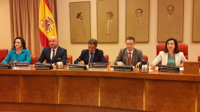 Los cuatro representantes de las asociaciones de jueces