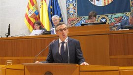 """Beamonte (PP) dice que el Gobierno de Aragón está """"colapsado"""" y Lambán es """"un problema"""" para la Comunidad"""
