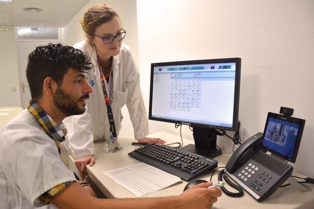 Atenció via videoconferència a pacients amb pròtesis en el Germans Trias
