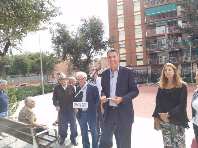 El president del PP català, Xavier Garcia Albiol