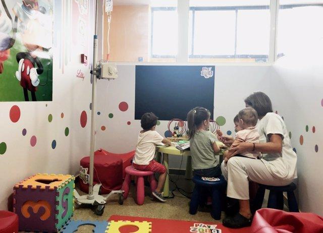 Fotos 'Play Zone' En Hospital Juan Ramón Jiménez