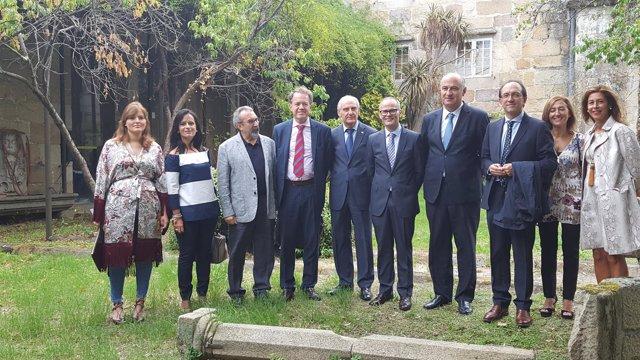 Np Visita Del Secretario De Estado De Cultura A Instalaciones Culturales De Oure