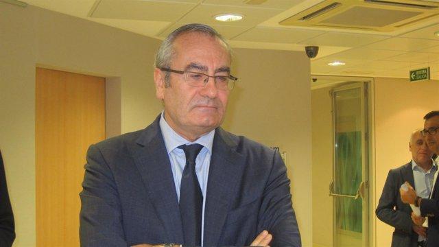 El presidente de Puertos del Estado, José Llorca Ortega