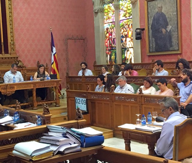 Nota De Premsa + Foto: Ple Consell De Mallorca