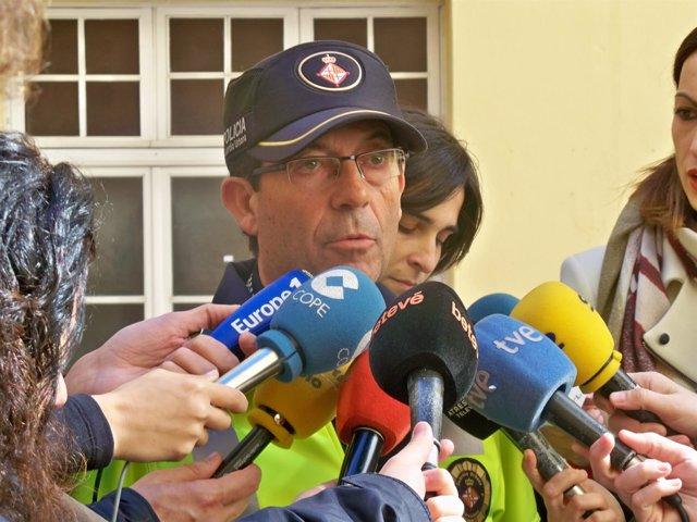 El intendente jefe de la Guardia Urbana de Barcelona Evelio Vázquez