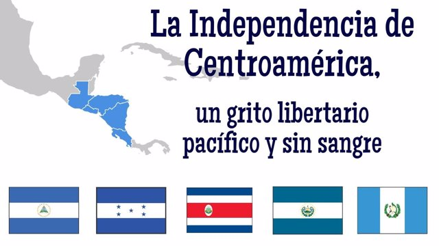 La Independencia de Centroamérica, un grito libertario pacífico y sin sangre