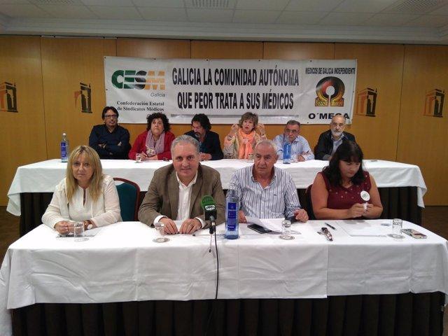 CESM-O'mega conocará una huelga del personal facultativo del Sergas
