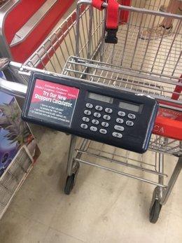 Carrito de la compra con calculadora incorporado