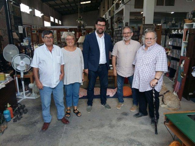 El alcalde de Palma visita Can Gazà