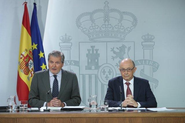 Iñigo Méndez de Vigo y Montoro tras el Consejo de Ministros
