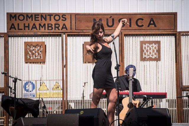 Soleá Morente, en Momentos Alhambra Música