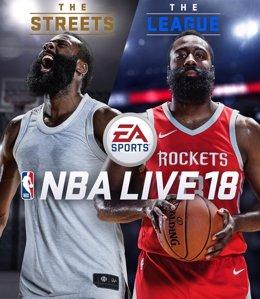 NBA Live 18, nuevo videojuego de Electronic Arts