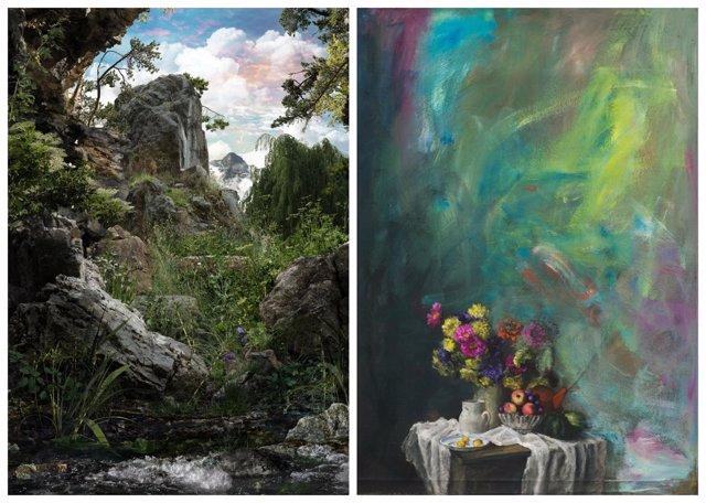 Exposición 'Parque Natural' y 'El florero en flor'