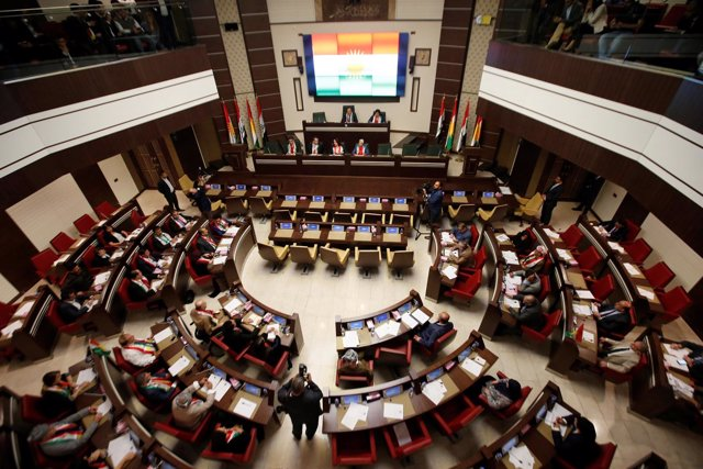 Parlamento kurdo en Erbil