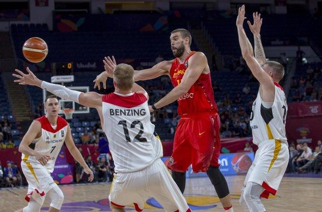 Marc Gasol en el Eurobasket 2017