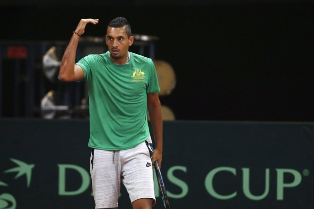 Nick Kyrgios en Copa Davis