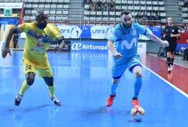 Movistar Inter comienza la defensa del título con goleada ante el Peñíscola