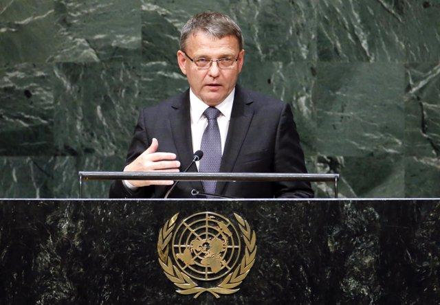 Lubomir Zaoralek, ministro de Asuntos Exteriores checo