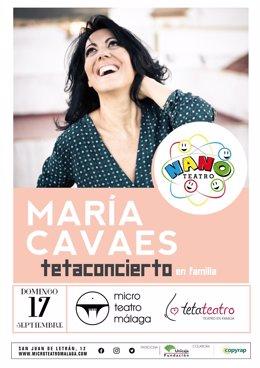 María Cavaes Tetaconcierrto