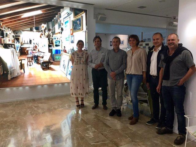 Francesc Miralles visita la Fundación Coll Bardolet