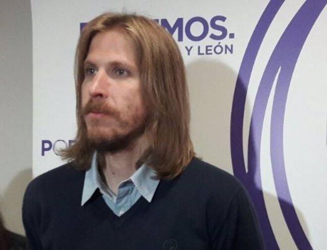 Valladolid.- El secretario general de Podemos CyL, Pablo Fernández