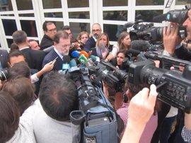 """Rajoy, en Santiago: """"El referéndum no se va a celebrar"""""""