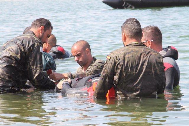 Jornadas de salvamento en Melilla