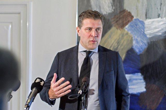 El líder del Partido por la Independencia de Islandia, Bjarni Benediktsson