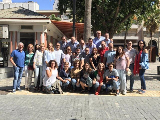Candidatura de Ignacio Caraballo al PSOE de Huelva